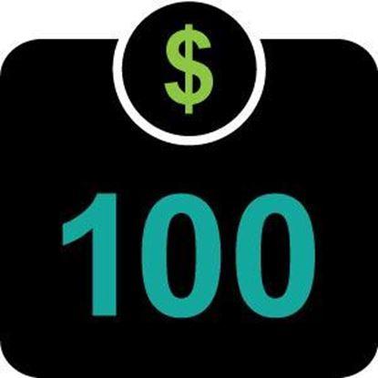 $100 Mountie Money